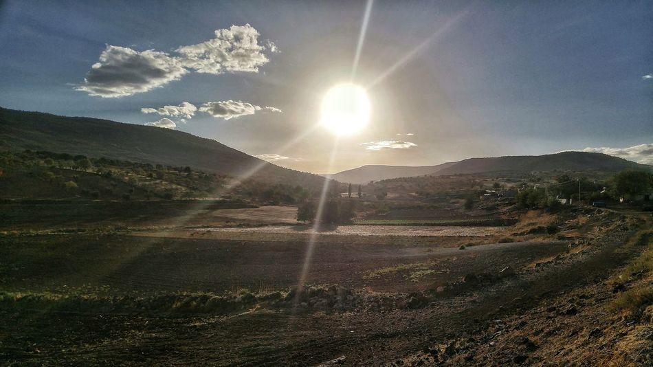 Mountain Sun Sky Clouds Kilis Türkiye