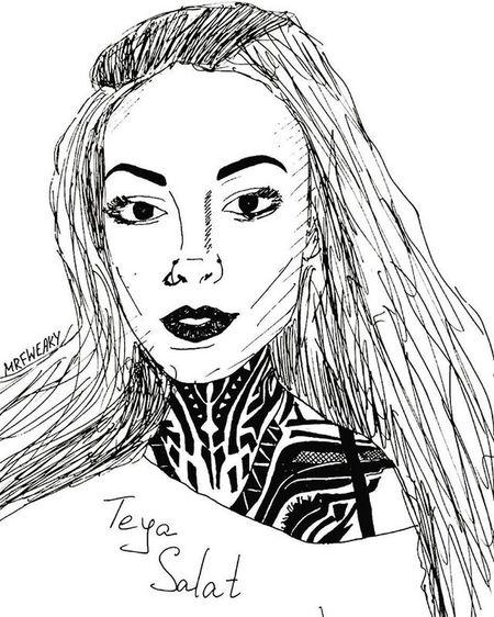 ♢ but the truth is the stars are falling ♢ TeyaSalat Teyasalattattoo Tumblr Tumblrart тамблергерл русскийтамблер Love Kiss Askfm Mrfweaky Tattoos Tattoo Scetching Drawing Ornament Ornamental Geometry Paint Draw Scetchbook Picture Girls