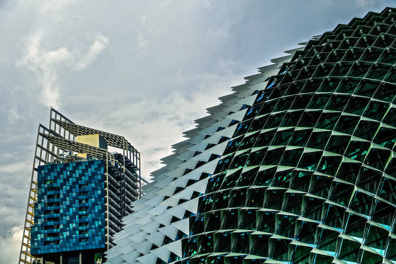 Singapore Singapore Durian Architecture Building Exterior Built Structure Durian Building Modern Singapore City