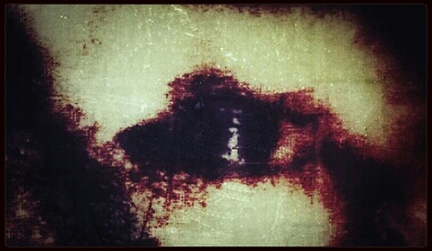 The blood from my eye, once flowed inside. Where before flowed tears of joy and of pain. Now filled with eternal emptiness and silence cried. On the surface, just a stain of what remains. Have A Frightful Halloween ;) Halloween Horrors Fearing The Imagination Darkart