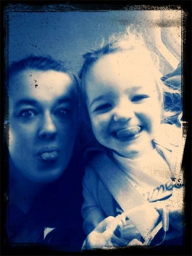 Hanging Out Cheese! Funny Faces My Niece ❤ :)