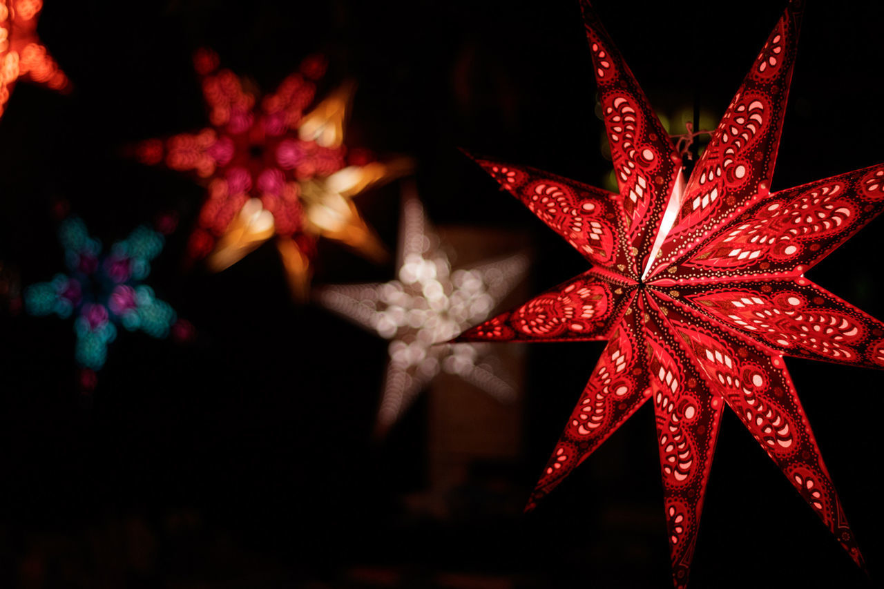 Christmas Celebration Christmas Decoration Red Close-up No People Christmas Ornament Canon50mm18 Eos80d Bokeh Outdoors Christmas Hanging Store Paperwork