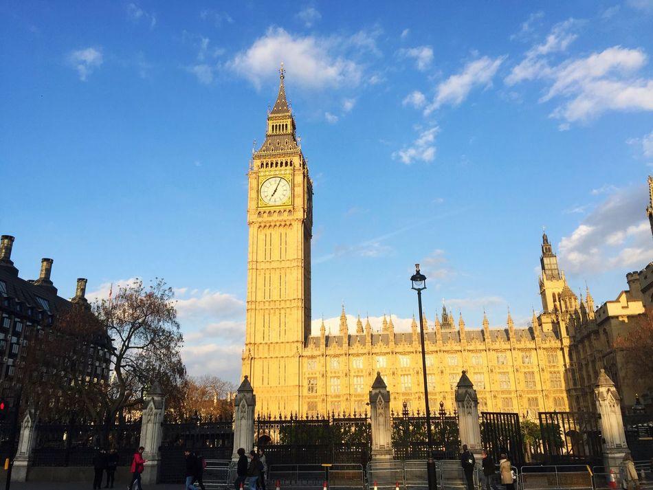 London Architecture Big Ben Parliament Britain