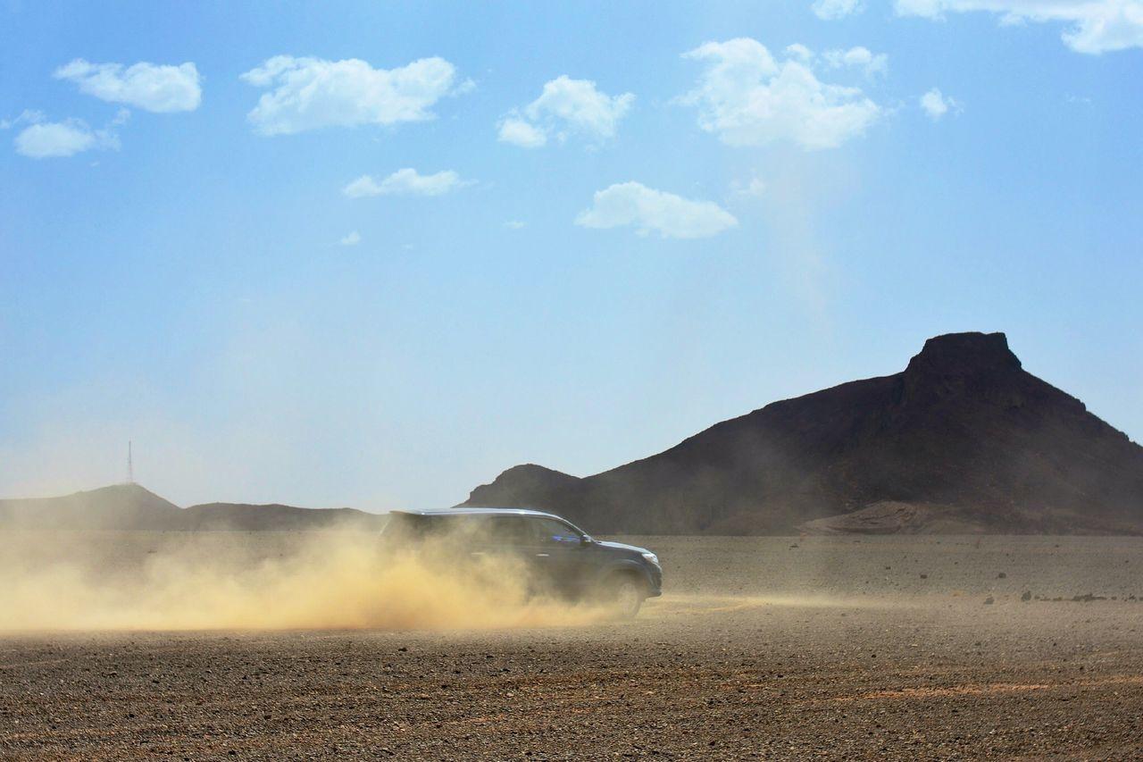 Beautiful stock photos of car, Automobile, Car, Clouds, Desert
