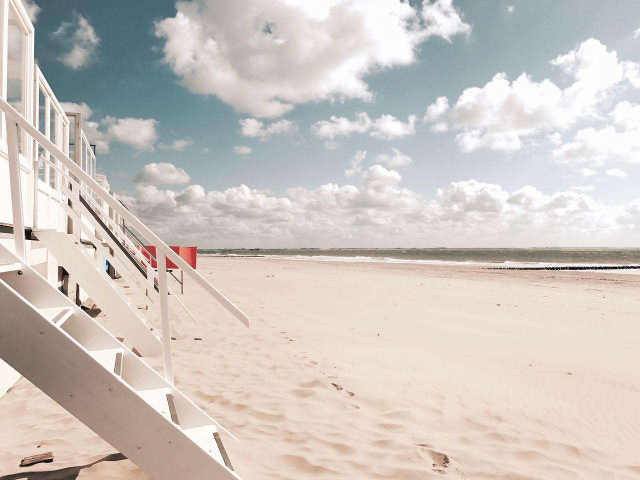 Beach Beauty In Nature Cloud - Sky Day Horizon Over Water Nature No People Outdoors Sand Scenics Sea Sky Summer Sunlight Tranquil Scene Tranquility Vacations Water