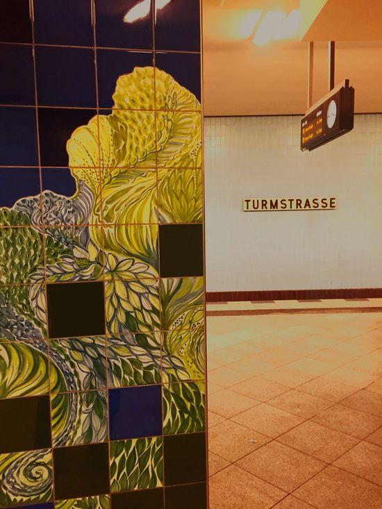 Streetphotography Metro Subway Berlin Turmstrasse