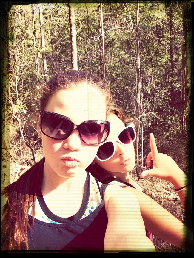 Havin Fun in the bush with my bestie First Eyeem Photo