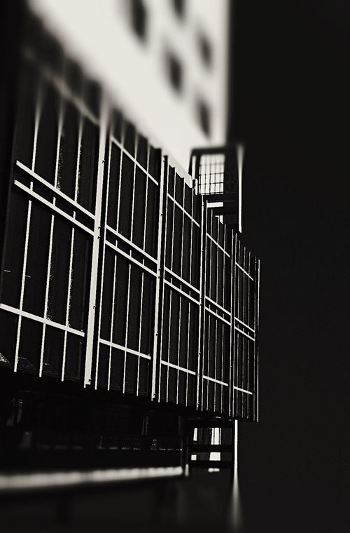 Architecture_bw Depth Of Focus Procamera Silhouette No Double Exposure Pattern Pieces