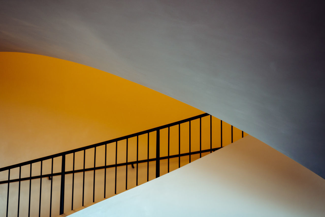 Architecture Built Structure Day Low Angle View Minimalism Minimalobsession No People Outdoors Railing Staircase Steps Steps And Staircases