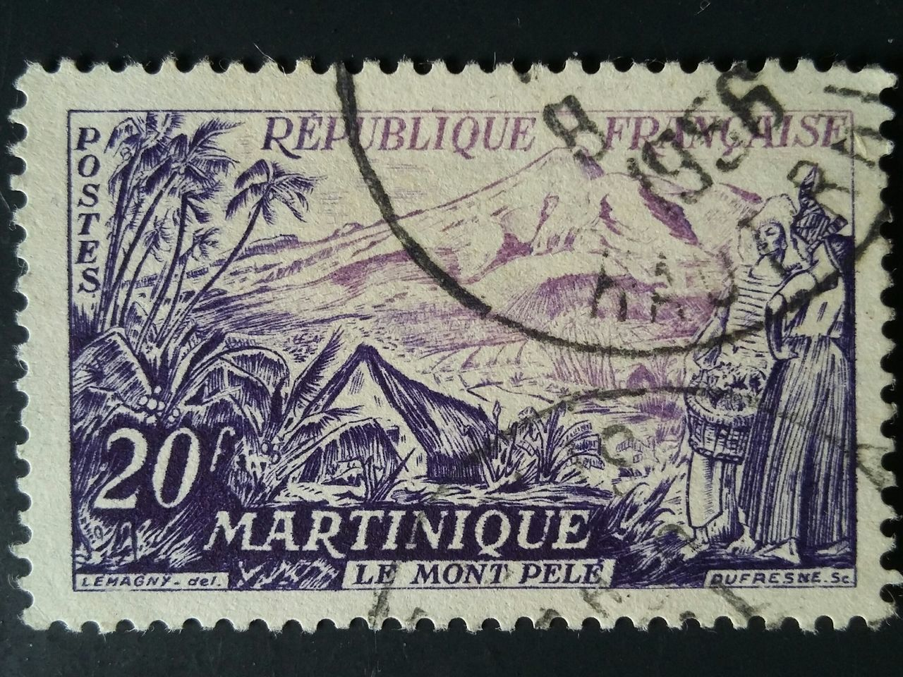 martinique Postage Stamp France Communication People Business Finance And Industry Creativity Politics And Government History Commemorate Stamp Old-fashioned Collections Collectibles Industry Nikonphotography Paper