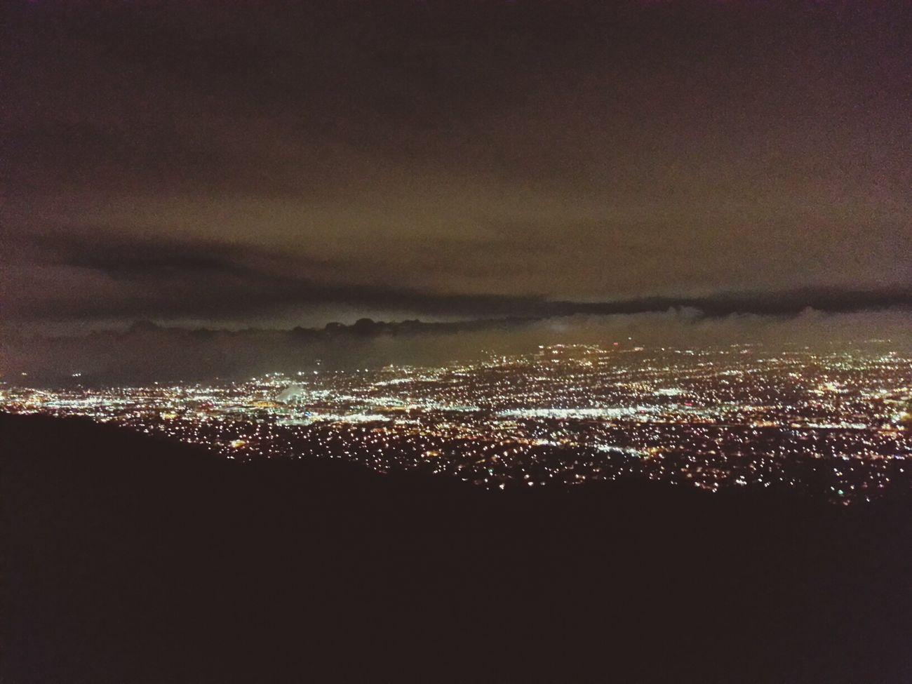 Night time hike...