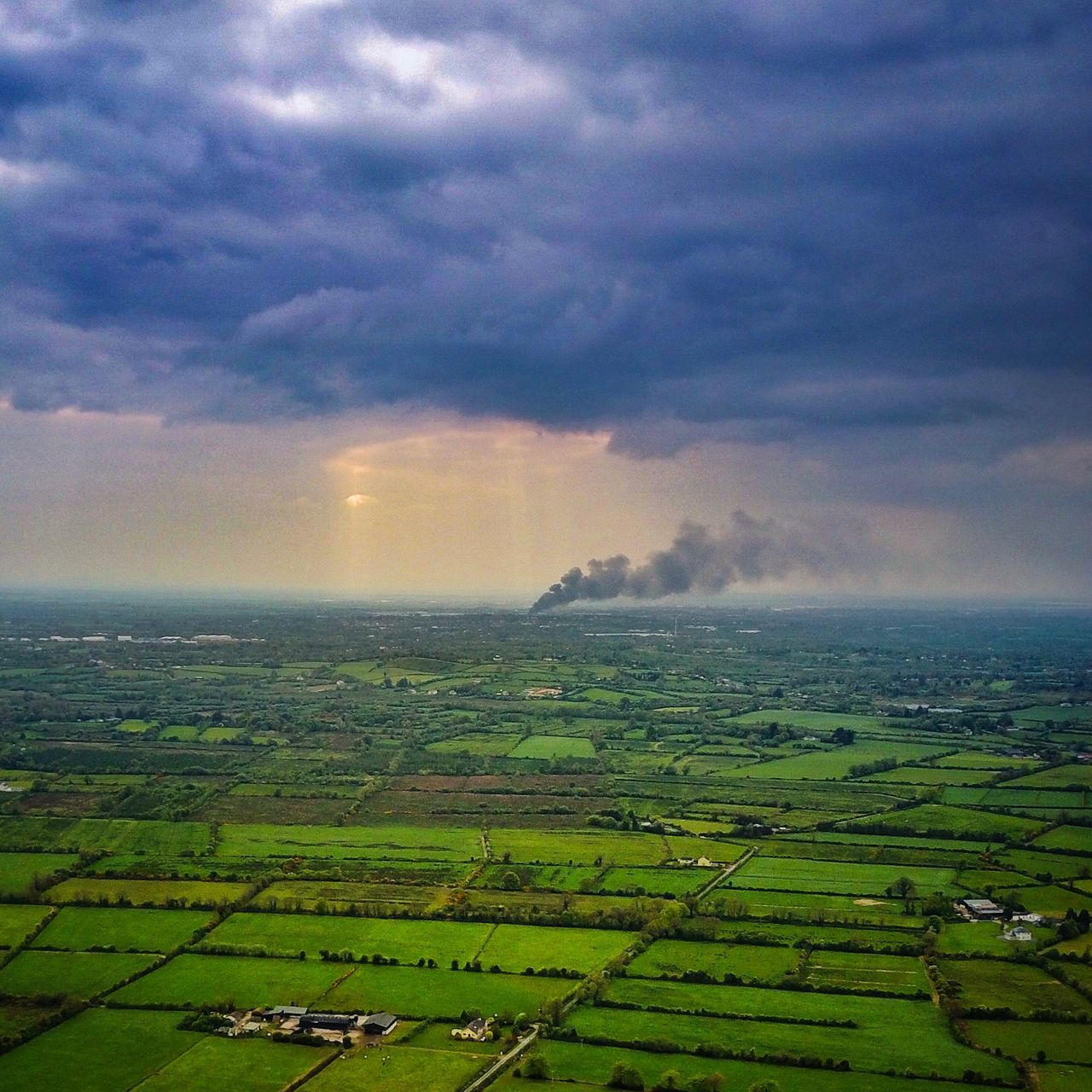 Agriculture Field Rural Scene Landscape Farm Beauty In Nature Tranquil Scene Scenics Nature Cloud - Sky Cultivated Land Sky Tranquility Crop  No People Patchwork Landscape Green Color Idyllic Outdoors Growth limerick Limerick