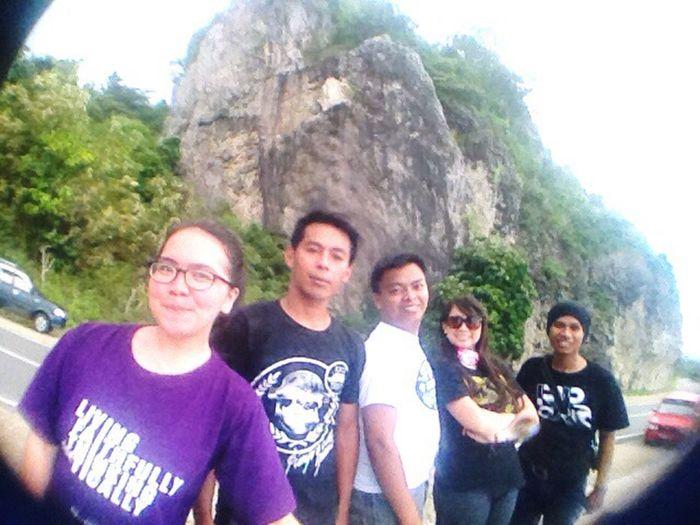 Tebing batu, the real stone