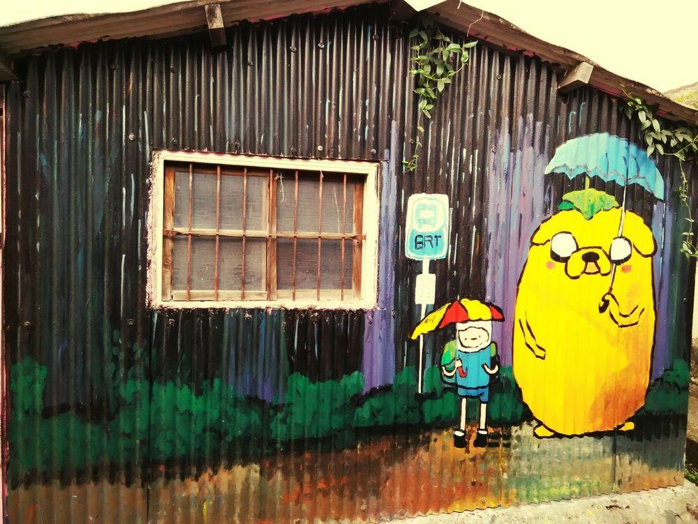 初三在雲林,龍貓老皮傻傻分不清楚,想當初迷戀龍貓的日子,哈哈。這裡每隻龍貓感覺都有自己的故事,希望我也是如此。期待!! Rainny Day In My Hometown