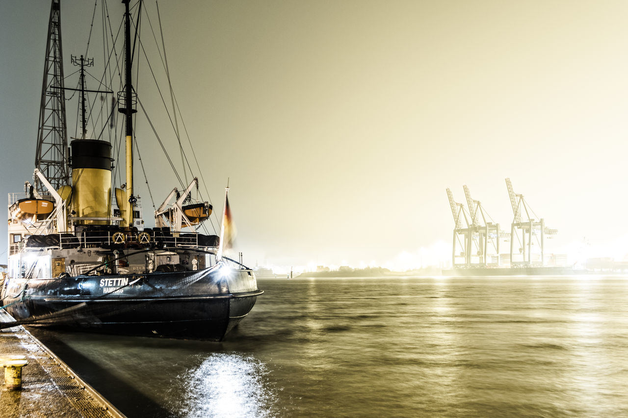 nautical vessel, transportation, water, mode of transport, sea, waterfront, no people, ship, mast, outdoors, sailboat, nature, sailing, sky, moored, day, harbor, clear sky, yacht, beauty in nature, sailing ship, tall ship