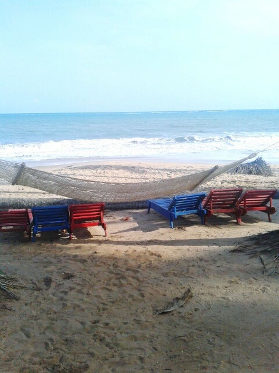 Paradise is wherever you can find it. Traveling Beach Ghana Coast Paradise Summer Hello World Think Positive Ocean