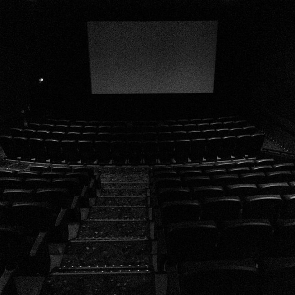 Solo at the cinema. This morning...Looper.