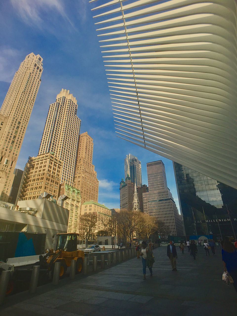 architecture, built structure, building exterior, skyscraper, modern, city, sky, travel destinations, travel, outdoors, day, real people, urban skyline, cityscape