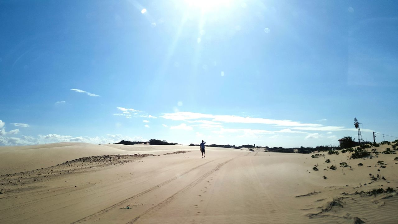 Alone on the Dune, Brazil Ceará by neno Tourism Nature Vacations Dune Cumbucobeach Neno