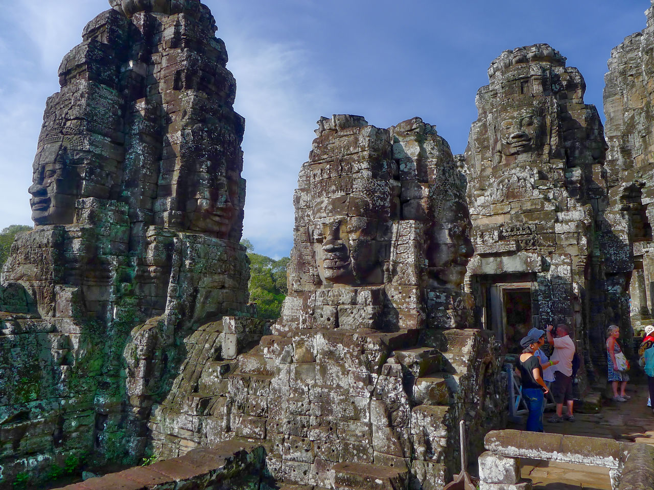 Ancient Civilization Angkor Thom Business Finance And Industry Cultures Day Old Ruin Outdoors Place Of Worship Religion Sculpture Siem Reap, Cambodia Spirituality Statue Stone Material Tourism Tourist Travel Destinations Vacations