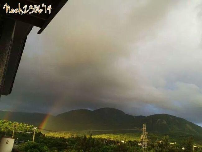 I miss this Rainbow-Hengchun Double Rainbow