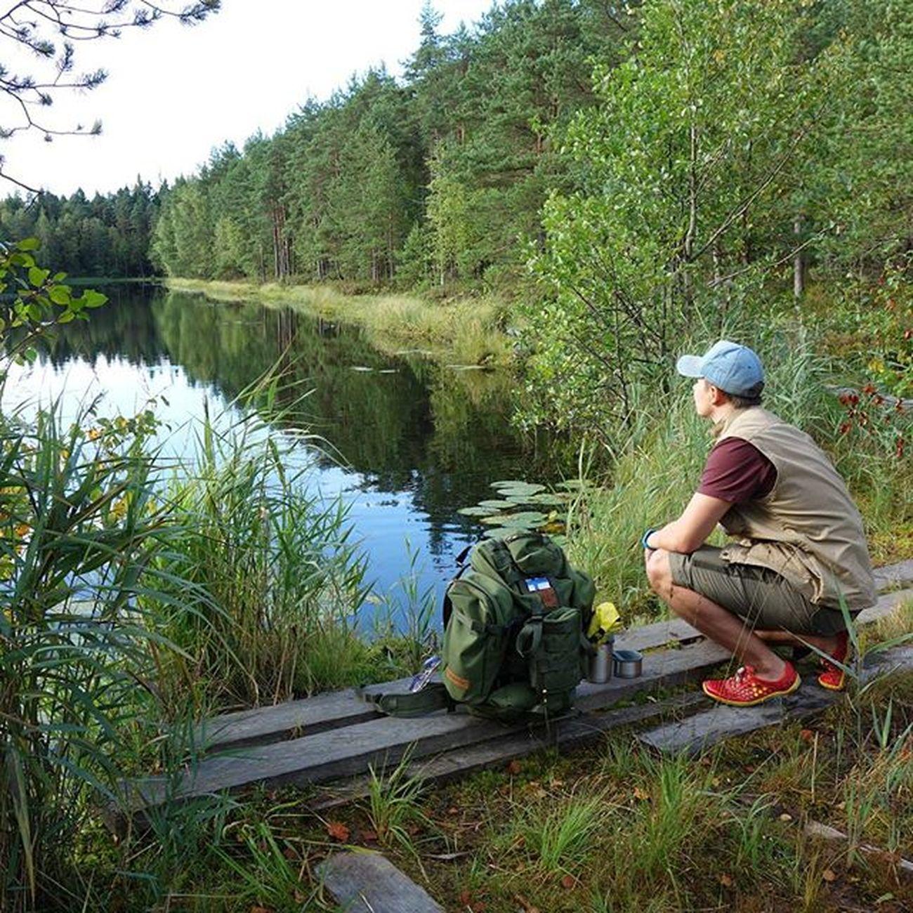Get outside. now. Campvibes Savottajääkäri Savotta Vivobarefoot vivoultra finnsavotta finland lake outdoors retkeily sipoonkorpi