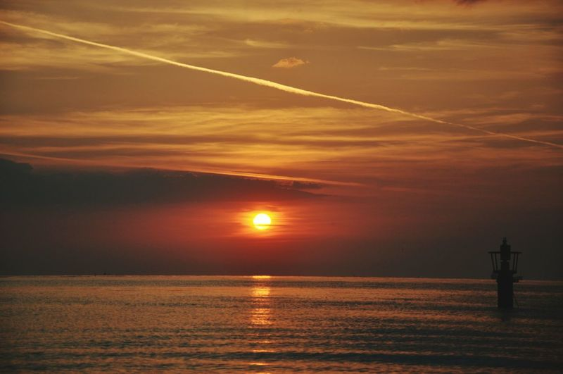 Poland IsPoland Beach Sea Summer Sunset Lantern Cloud - Sky Beauty In Nature Beautiful Day Lovely Weather