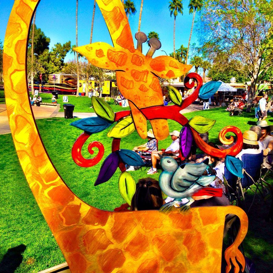 Beautiful art by Kristin DeSantis at Scottsdale Arts Festival in Scottsdale Art IPhoneography