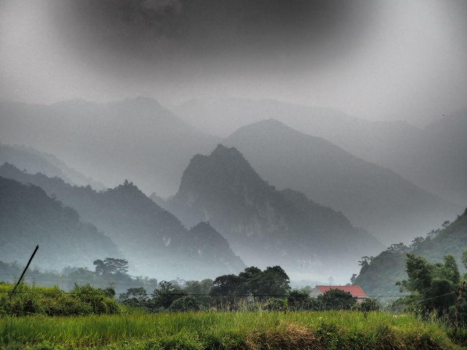 Beautiful Mountain Taking Photos