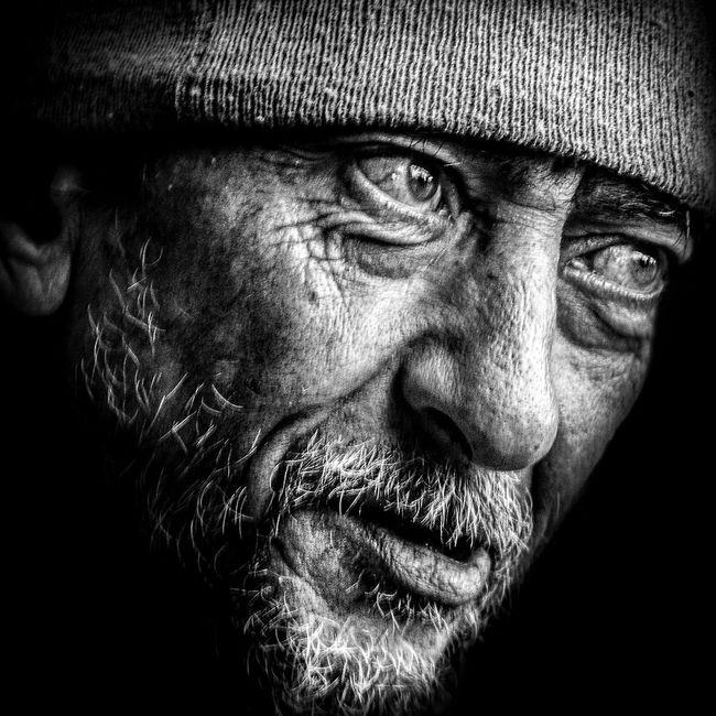 Anonymous portrait... RePicture Ageing The Human Condition EyeEmbnw EyeEm Best Shots - Black + White EyeEm Best Shots Bw_portraits Streetphoto_bw Street Portrait Blackandwhite Streetphotography Bw_collection B&W Portrait Portrait