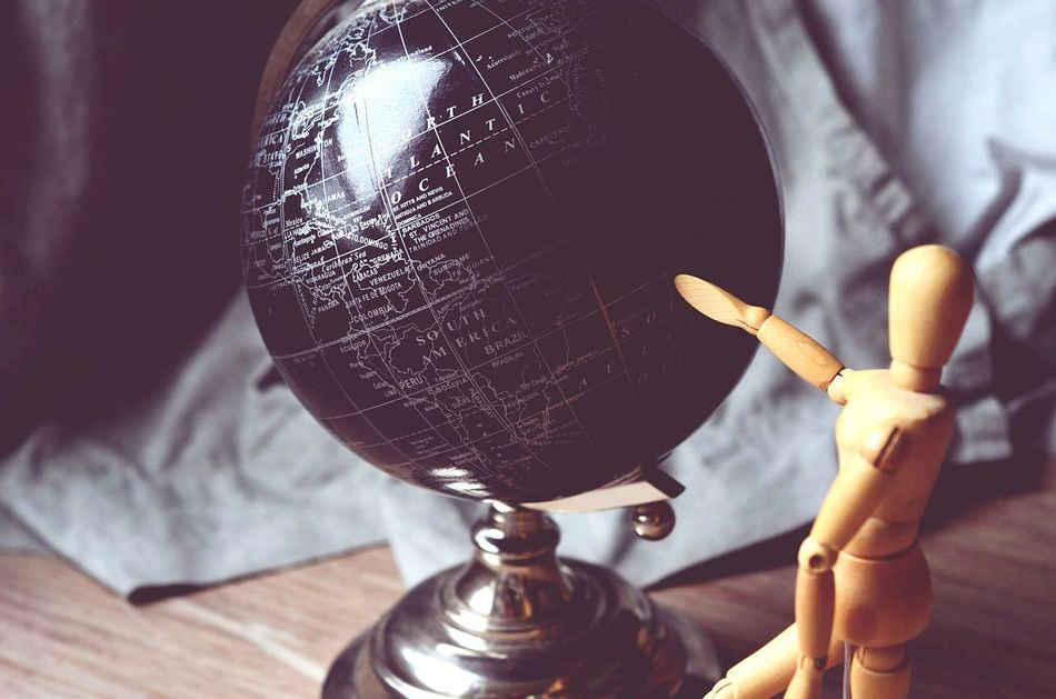 Beautiful stock photos of globe of earth, Art And Craft, Art And Craft Equipment, Close-Up, Communication