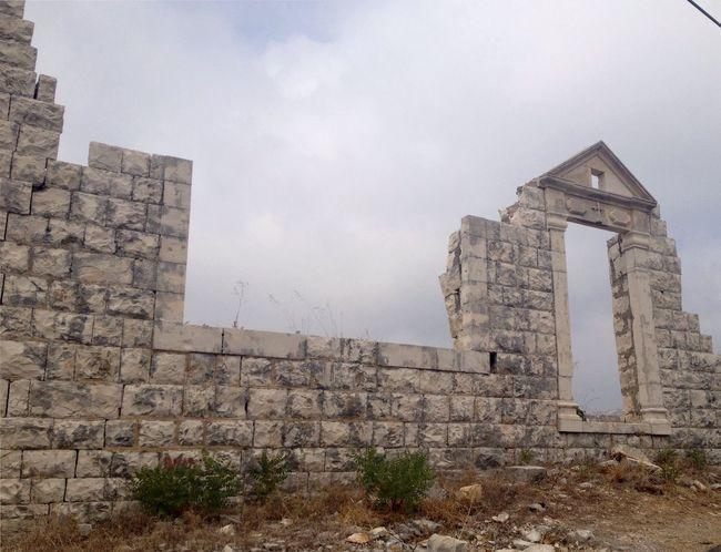 Ruins East Mediterranean Lebanon Mountain