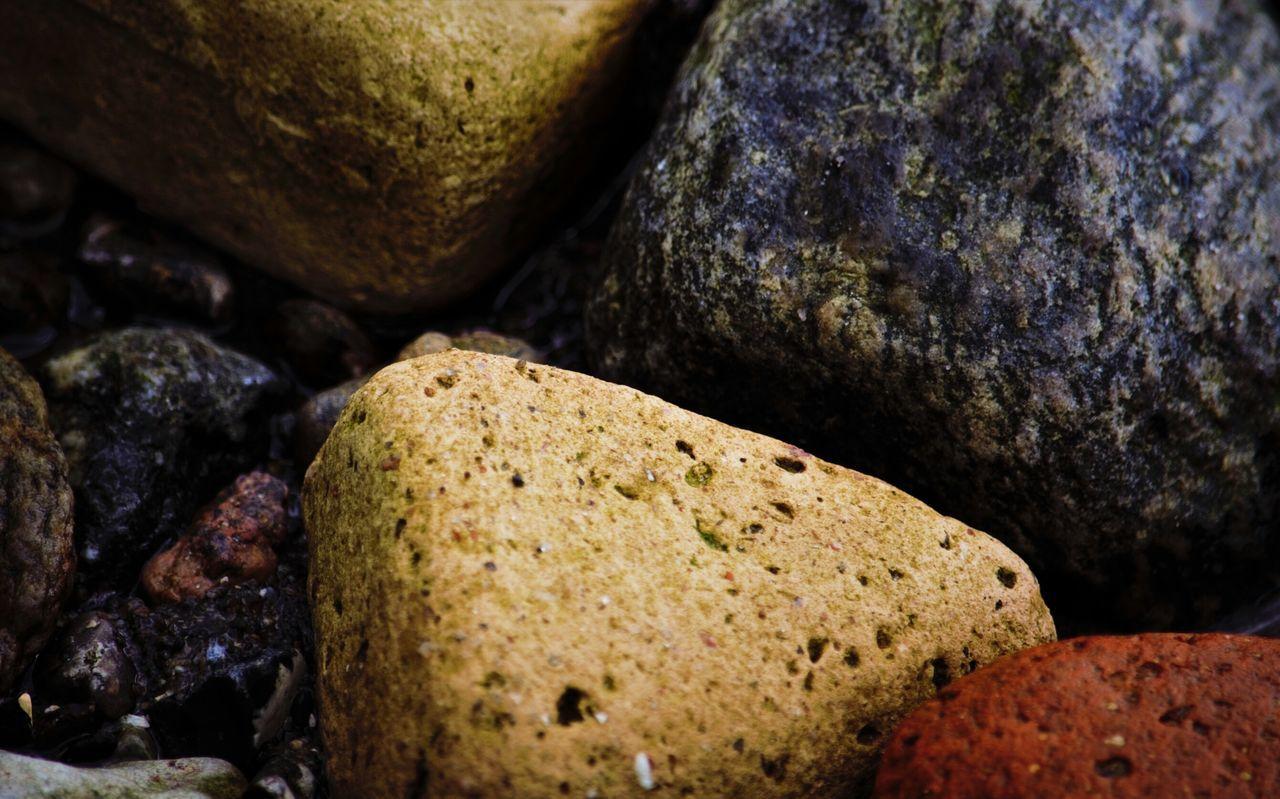 Beach Sea Seaside Stones Bricks Softened by the Ocean Showcase April