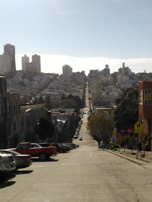 #SanFrancisco City Road Built Structure Cityscape Cuesta Day No People Outdoors Road The Way Forward Transportation