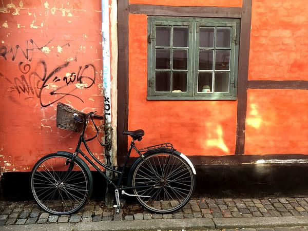 Building Exterior Built Structure Window Architecture No People Outdoors House Bicycle Denmark EyeEm Neighborhood Map