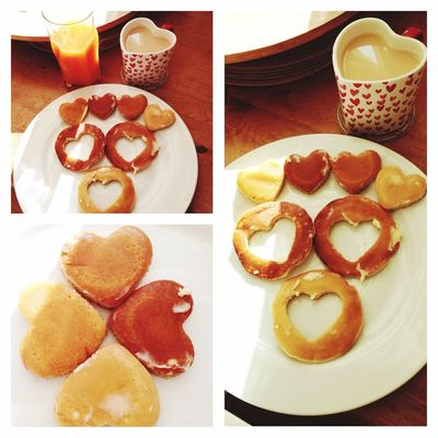 Made with love ????? Happy Pancake Day With Love