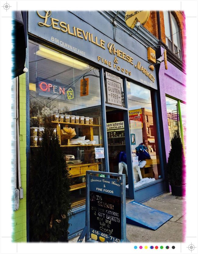 Really cool little shop that makes the best sandwiches! Leslieville Toronto Cheese Shoppe IPhoneography Offset Image