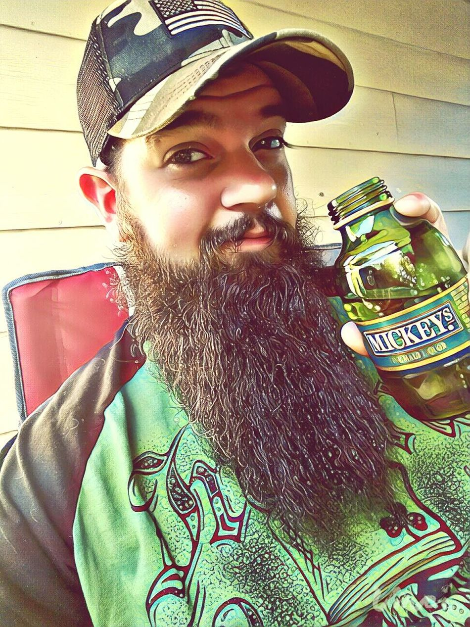 Beard Portrait Young Adult Men Day Outdoors Beer malt liquor One Person One Young Man Only Lifestyles Adult Only Men One Man Only People Adults Only First Eyeem Photo