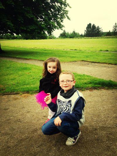 Walking Around Enjoying The Sun Niece & Nephew Lovelovelove