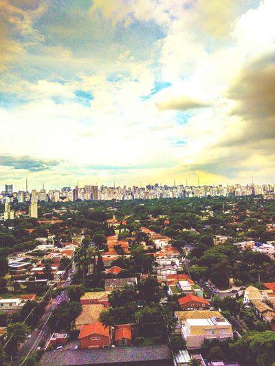 Royal View Skyline Sky And Clouds Jardins SP 011 Sao Paulo - Brazil