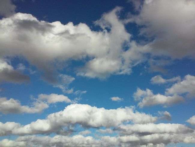 Cloud - Sky Unfiltered Pureshot Clouds And Sky Blue Sky Backgrounds Nature Heaven Blue Sky Beauty In Nature Spiritual No People Outdoors