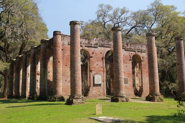 Sheldon church ruins. Built in 1745, burned by the British, rebuilt in 1826 and burned by the Federal Army. South Carolina History Vacation South Carolina Ruins Eye4photography  EyeEm Best Shots