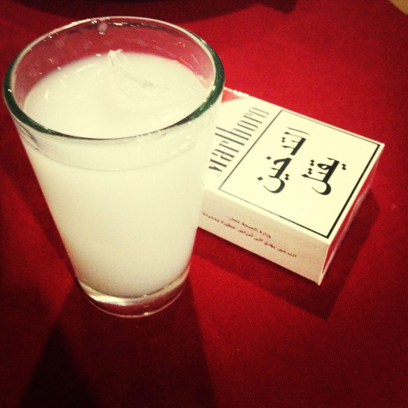 Drinking Arak