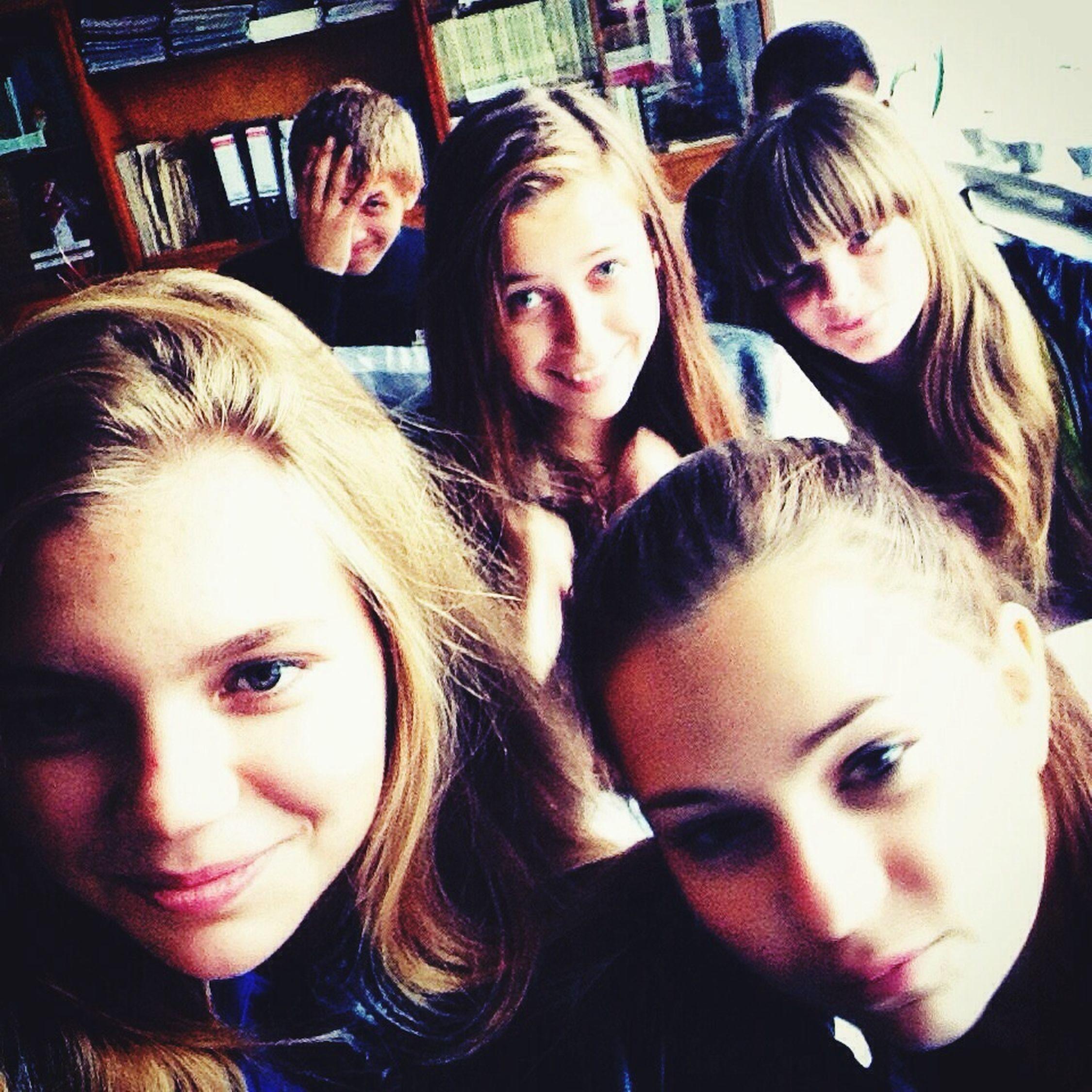В школе 😄
