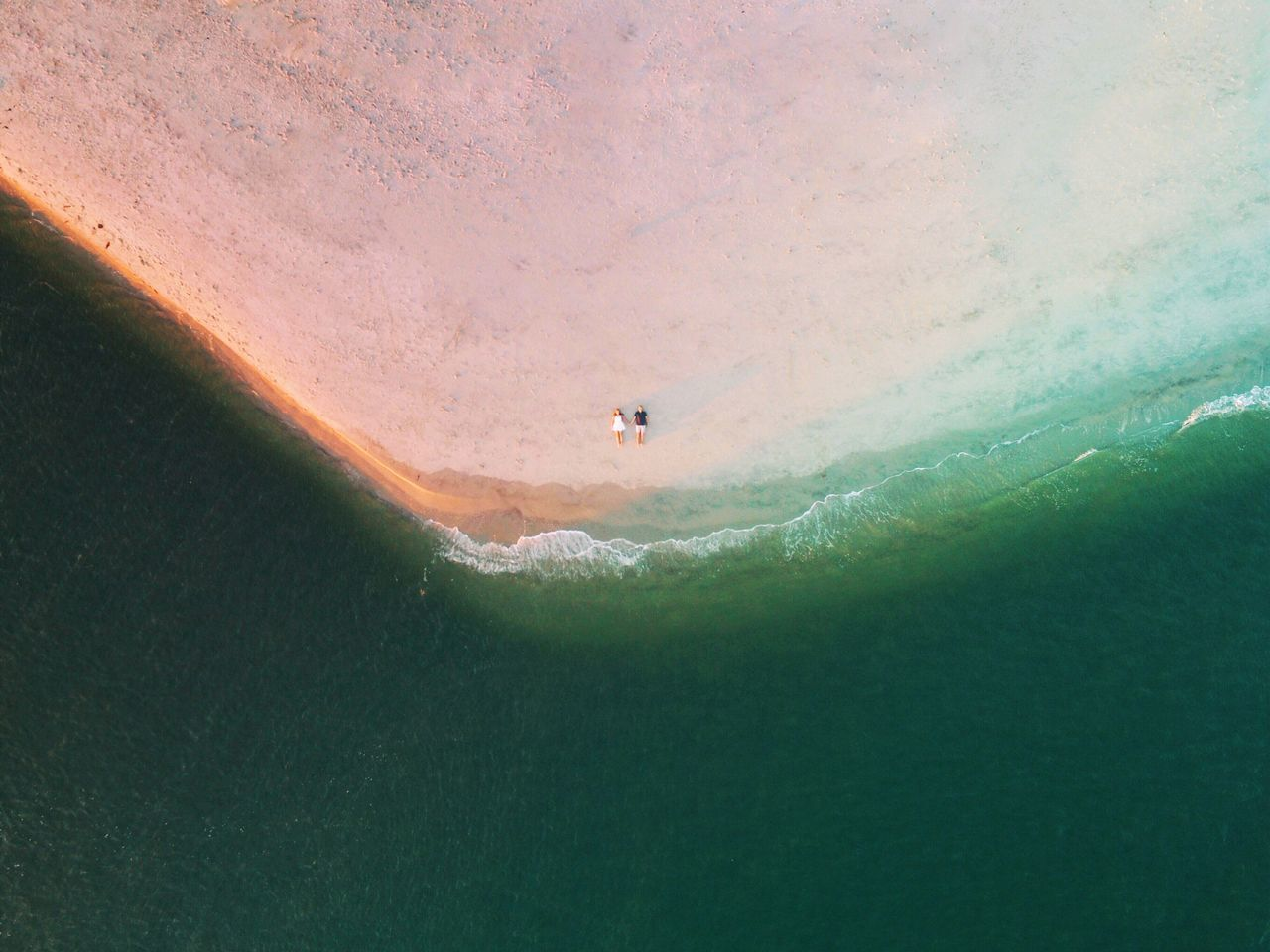 Aerial View Dronephotography Drone  Above The Clouds Couple Love First Eyeem Photo Two Is Better Than One A Bird's Eye View Social Media Collection