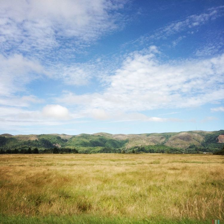 Willapa Hills Clouds And Sky Landscape