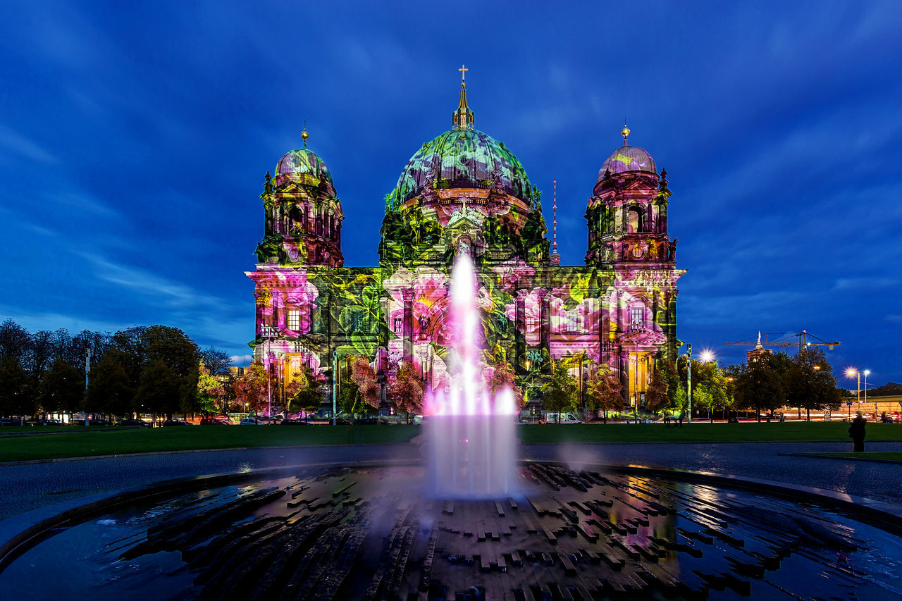 Beautiful stock photos of rosen, travel destinations, illuminated, night, religion