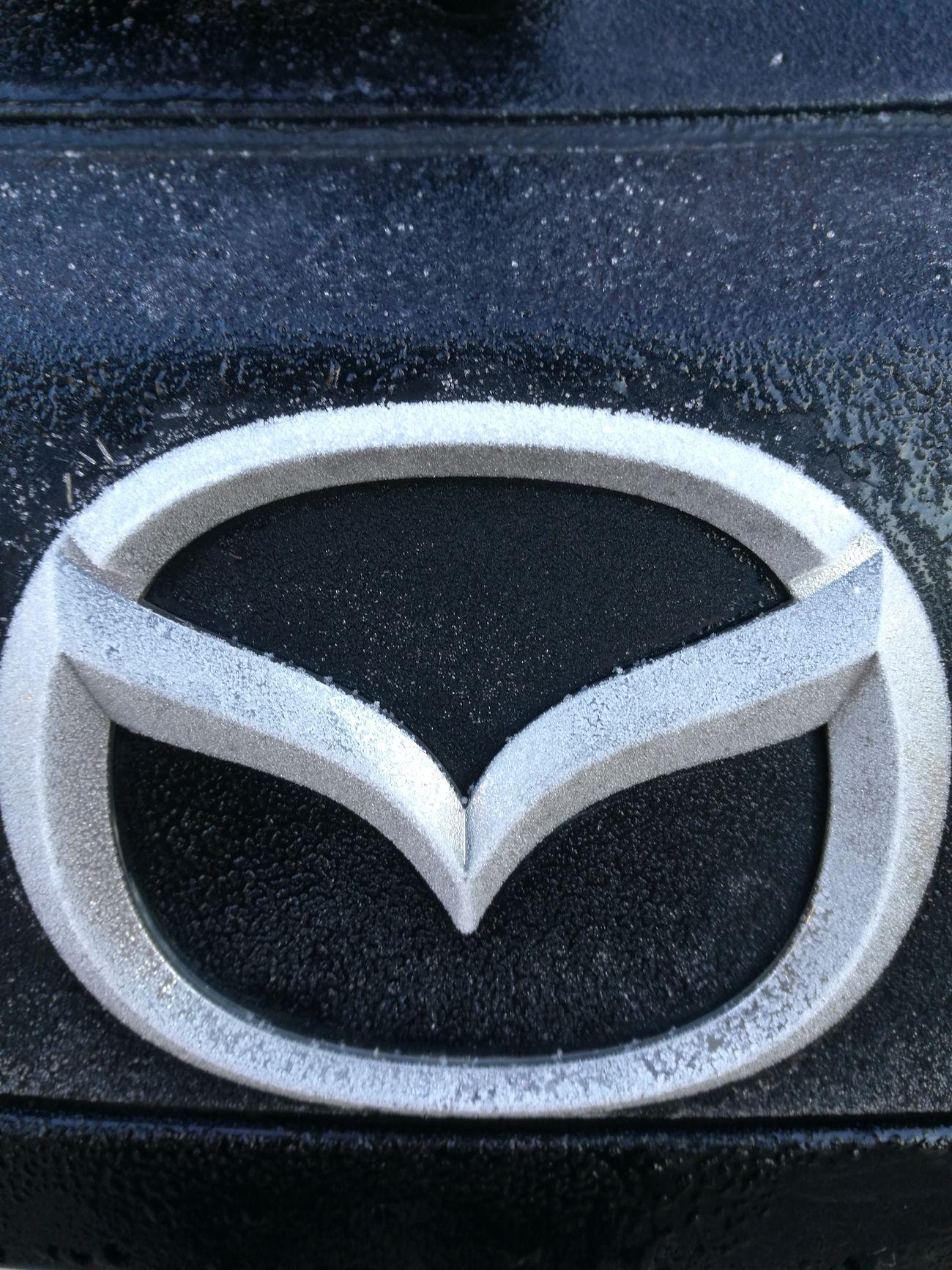 Close-up Mazda MaZda3 Ice Cold Cold Temperature Winter Water
