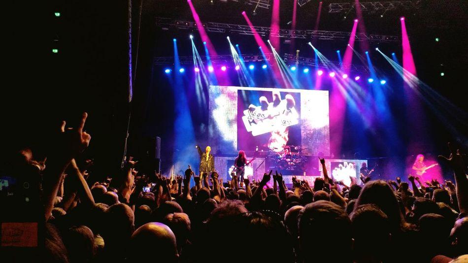 Judas Priest on stage Rock Concert Heavy Metal Live Music