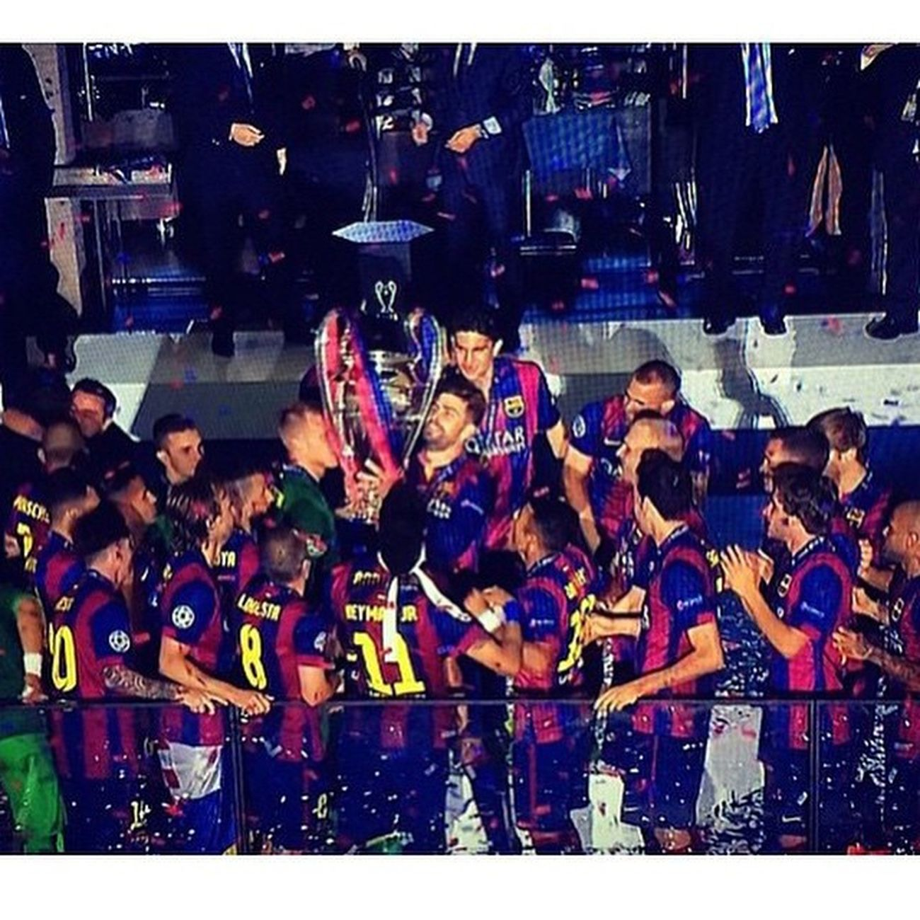 Forçabarça Second Treble FCB FCB Juventus Pirlo Messi Xavi Iniesta Neymar  Wellplayed Rakitic